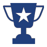 trophy icon for coed adult mushball league austin tx