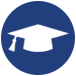 mortarboard icon for for ssc united intern opportunities